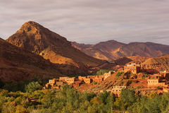 Gorges de Dades, Atlas Mountain in Morocco. Monkey fingers. Royalty Free Stock Photos