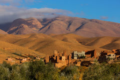 Gorges de Dades, Atlas Mountain in Morocco. Monkey fingers. Stock Image