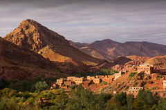 Gorges de Dades, Atlas Mountain in Morocco. Monkey fingers. Royalty Free Stock Images