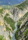 Gorges de Guil Στοκ Φωτογραφία