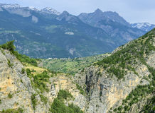 Gorges de Guil Στοκ φωτογραφία με δικαίωμα ελεύθερης χρήσης