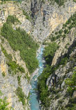 Gorges de Guil Photo stock