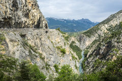 Gorges de Guil Photographie stock