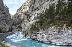 Gorges de Guil Lizenzfreies Stockbild