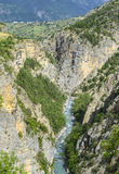 Gorges de Guil Stock Photography