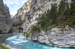 Gorges de Guil Royalty Free Stock Image