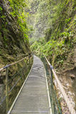 Gorges de la fou walkway Stock Images