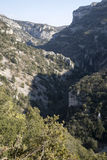 Gorges de la Nesque Canyon in Provence, France Royalty Free Stock Photography