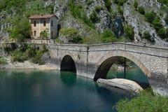Gorges de Sagittario Photos stock