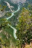 Gorges de Verdon Royalty Free Stock Image
