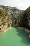 Gorges de Verdon Lac St Croix, France Royalty Free Stock Photography