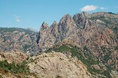 Gorges DES Spelunca, Córcega Foto de archivo