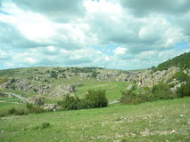 Gorges of Dobrogea Stock Photo