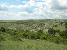 Gorges of Dobrogea Stock Photography