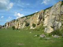 Gorges of Dobrogea Royalty Free Stock Image