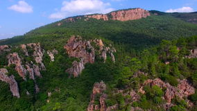Gorges du Blavet - Var - France stock video footage