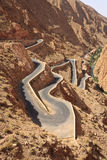 Gorges du Dades. Dades Gorges, Atlas Mountains, Kingdom of Morocco, North Africa stock image
