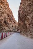 The Gorges du Dades valley with road, Morocco Royalty Free Stock Image