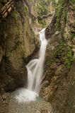 Gorges du Durnand waterfall Stock Photo