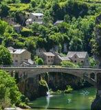 Gorges du el Tarn Fotografía de archivo libre de regalías