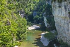 Gorges du Tarn fotografia de stock royalty free