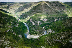 Gorges du Tarn canyon Stock Image
