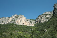 The Gorges du Tarn in France Royalty Free Stock Photos