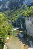 Gorges du Tarn. (Lozere, Linguedoc-Roussillon, France), famous canyon at summer Stock Photos