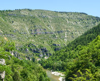 Gorges du Tarn Stock Photos
