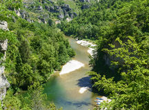 Gorges du Tarn Royalty Free Stock Images