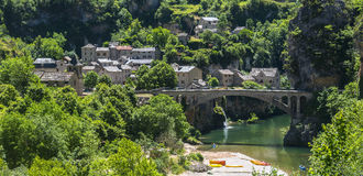 Gorges du Tarn Stock Photography