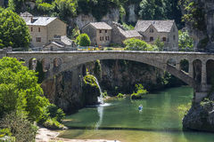 Gorges du Tarn Royalty Free Stock Photography