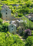 Gorges du Tarn, village Royalty Free Stock Photography