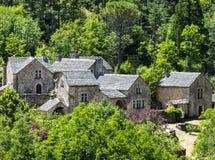 Gorges du Tarn, village Stock Image