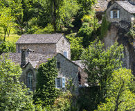 Gorges du Tarn, village Stock Image