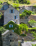 Gorges du Tarn, village Royalty Free Stock Images