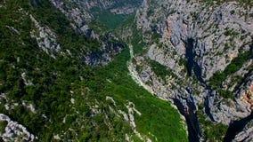 Gorges du Verdon - Προβηγκία - Γαλλία απόθεμα βίντεο