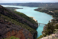 Gorges du Verdon Stock Photos