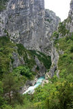 Gorges du Verdon Immagine Stock