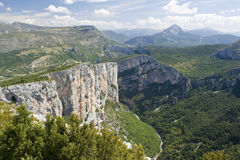Gorges du Verdon Images libres de droits