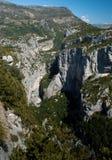 Gorges du Verdon стоковые фото