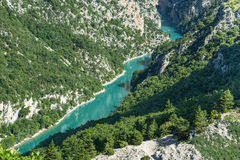 Gorges du Verdon Stockfotos