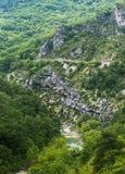 Gorges du Verdon Στοκ εικόνες με δικαίωμα ελεύθερης χρήσης