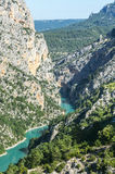 Gorges du Verdon Royalty-vrije Stock Foto
