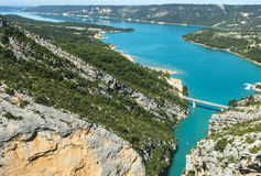 Gorges du Verdon Photo libre de droits