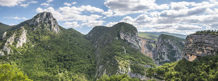 Gorges du Verdon Stockfoto