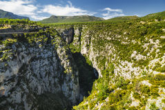 Gorges du Verdon Royalty-vrije Stock Fotografie