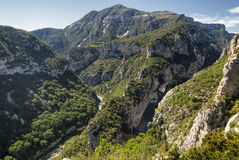Gorges du Verdon Stock Image