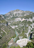 Gorges du Verdon,Canyon du Verdon,France Stock Photos