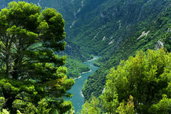 Gorges du Verdon (France) Stock Images